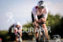 Harry Wiltshire (GBR) during the bike leg at Ironman Vichy…