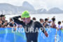 Olympic champion Martin Schulz (GER) during the swim portion of…