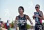 Ai Ueda during the run portion of the 2016 WTS…