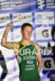 Henri Schoeman (RSA) during the podium portion of the 2016…