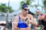 Sebastian Kienle during the swim portion of the 2016 Ironman…
