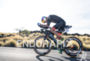 Jesse Thomas during the bike portion of the 2016 Ironman…