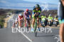 Andy Potts during the bike portion of the 2016 Ironman…