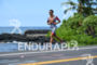 Ivan Rana during the run portion of the 2016 Ironman…