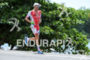 Terenzo Bozzone during the run portion of the 2016 Ironman…