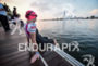 Jeanii Seymour during the swim portion of the 2016 Ironman…